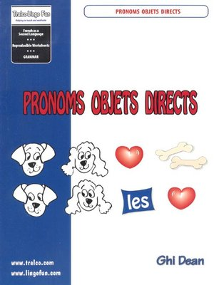 cover image of Pronoms Objects Directs