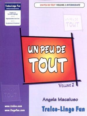 cover image of Un peu de tout, Volume 2