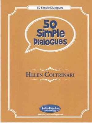 cover image of 50 Simple Dialogues