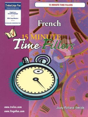 cover image of 15 Minutes Time Fillers
