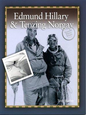 cover image of Edmund Hillary & Tenzing Norgay