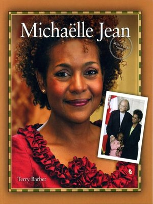 cover image of Michaelle Jean