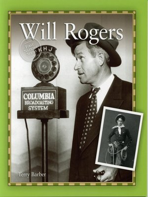 cover image of Will Rogers