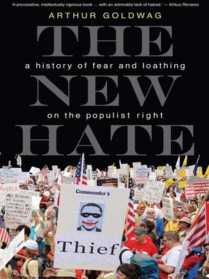 cover image of The New Hate