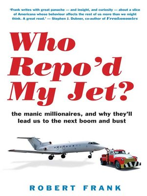 cover image of Who Repo'd My Jet?