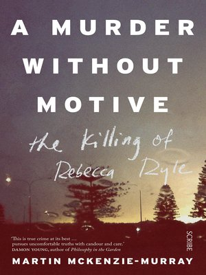 cover image of A Murder Without Motive