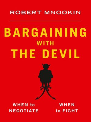 cover image of Bargaining with the Devil