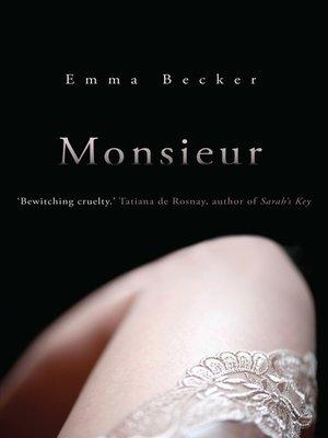 cover image of Monsieur