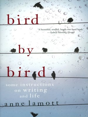 Bird by bird by anne lamott overdrive rakuten overdrive ebooks bird by bird anne lamott fandeluxe Image collections