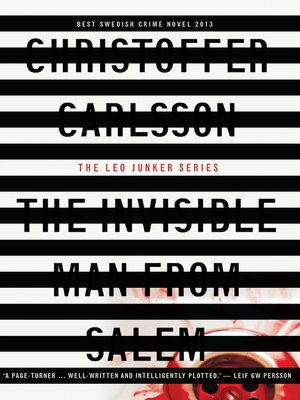 cover image of The Invisible Man from Salem