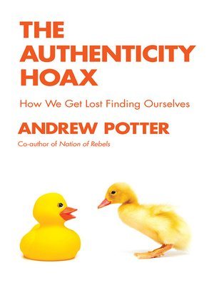 cover image of The Authenticity Hoax