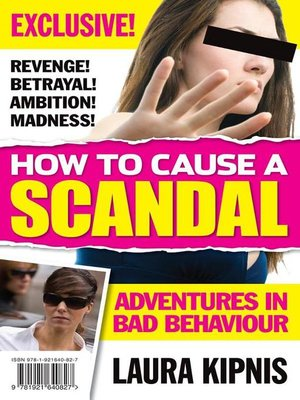 cover image of How to Cause a Scandal