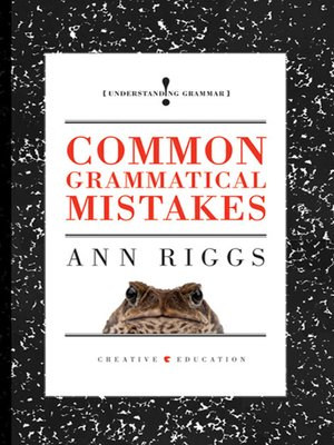 cover image of Common Grammatical Mistakes