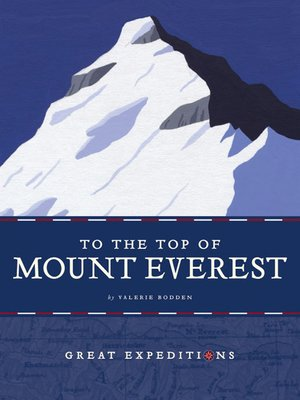 cover image of To the Top of Mount Everest