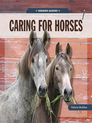 cover image of Caring for Horses