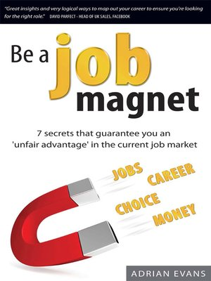 cover image of Be a Job Magnet