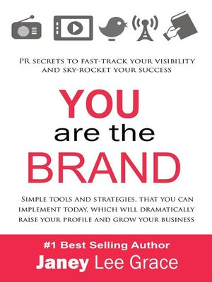 cover image of YOU are the BRAND