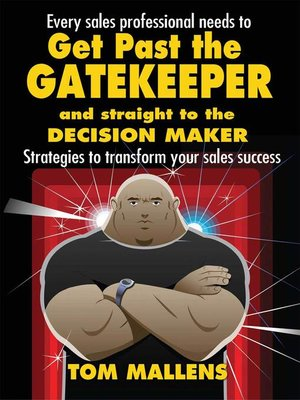 cover image of Get Past the Gatekeeper