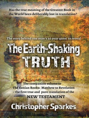 cover image of The Earth-Shaking Truth