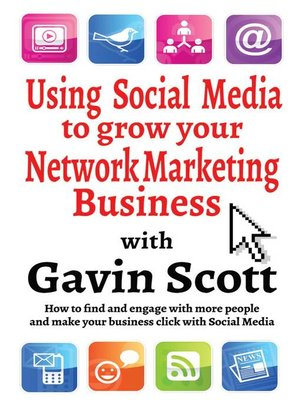 cover image of Using Social Media to grow your Network Marketing Business