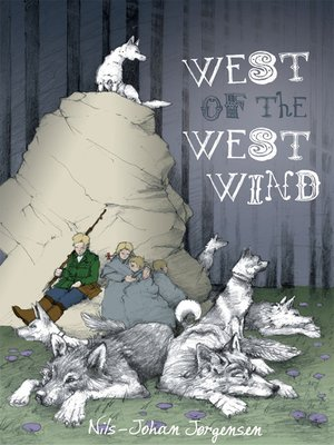 cover image of West of the West Wind