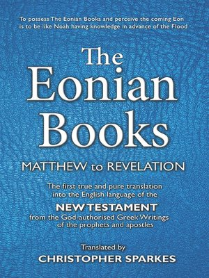 cover image of The Eonian Books