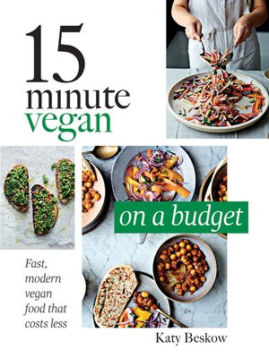 cover image of 15 Minute Vegan: On a Budget