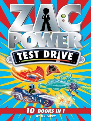 cover image of Zac Power Test Drive