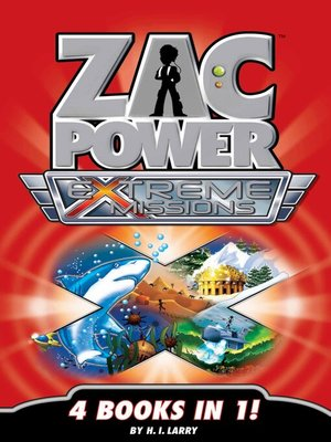 cover image of Zac Power Extreme Missions