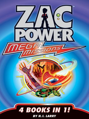cover image of Zac Power Mega Missions