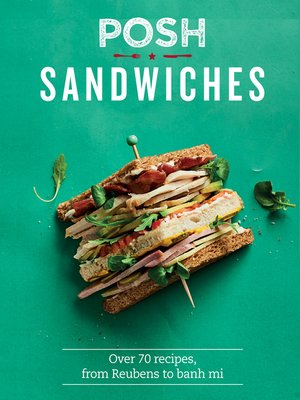 cover image of Posh Sandwiches