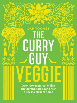 cover image of The Curry Guy Veggie