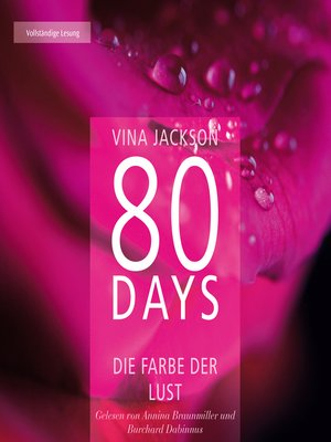 cover image of 80 Days--Die Farbe der Lust