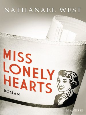 cover image of Miss Lonelyhearts