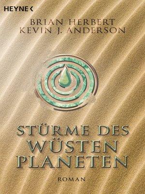 cover image of Stürme des Wüstenplaneten