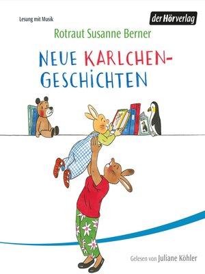 cover image of Neue Karlchen-Geschichten