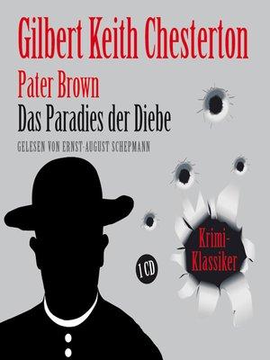 cover image of Das Paradies der Diebe
