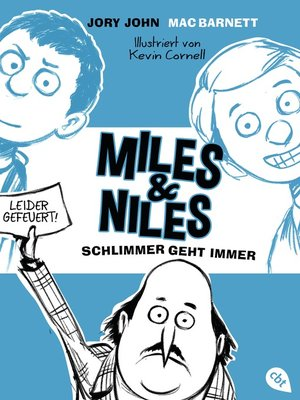 cover image of Miles & Niles--Schlimmer geht immer