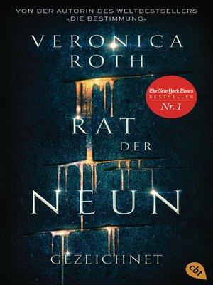 cover image of Rat der Neun--Gezeichnet