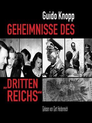 """cover image of Geheimnisse des """"Dritten Reichs"""""""