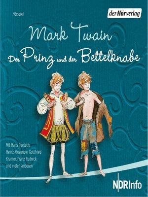 cover image of Der Prinz und der Bettelknabe