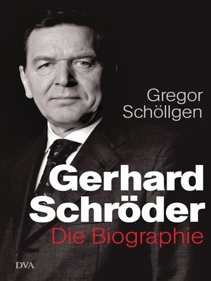 cover image of Gerhard Schröder