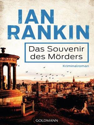 cover image of Das Souvenir des Mörders--Inspector Rebus 8