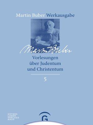 cover image of Vorlesungen über Judentum und Christentum