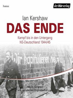 cover image of Das Ende