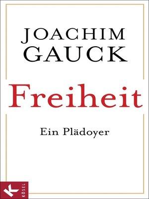 cover image of Freiheit