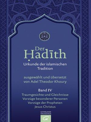 cover image of Traumgesichte und Gleichnisse. Vorzüge besonderer Personen. Vorzüge der Propheten. Jesus Christus