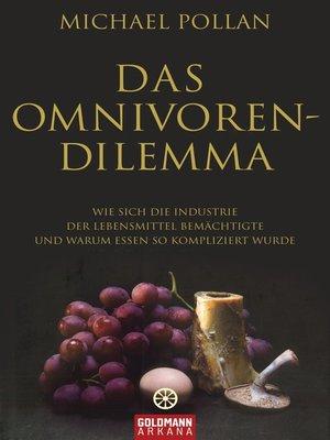 cover image of Das Omnivoren-Dilemma