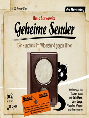 cover image of Geheime Sender