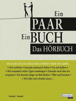 cover image of Ein Paar--Ein Buch